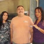De izquierda a derecha: Mirna Cristina Celaya, Dr. Rafael Riosmena Rodríguez y Ninoska María Torres Narváez.
