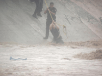 Rescate en arroyo
