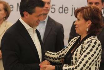 Rosario Robles, al equipo de Peña Nieto
