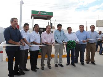Inaugura Transportes Colectivos bomba de diesel para autoconsumo