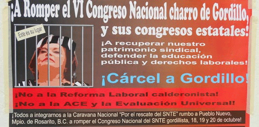 "A levantarse contra Elba Esther convocan maestros ""democráticos"""