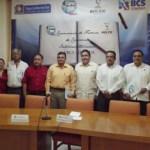 El M. en C. Gustavo Rodolfo Cruz Chávez, Rector de la UABCS, y el Ing. Antonio Octavio Molina Amarillas, Director General del Instituto Sudcaliforniano del Deporte (INSUDE), signaron un convenio general de colaboración.