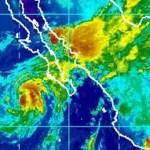 Se prevé que Kristy mantenga un desplazamiento al noroeste, favorecería nubosidad importante hacia zonas marítimas y costeras e inclusive tierra adentro de Baja California Sur con lluvias fuertes y comience a debilitarse.