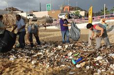 Evalúa y limpia playas ZOFEMAT