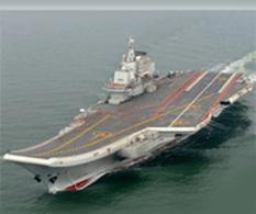 Presume China su portaaviones