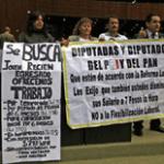 Proestas por Reforma laboral