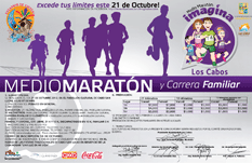Invitan a medio maratón familiar