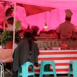 puestos callejeros de comida