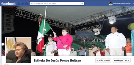 FaceBook de Esthela ponce