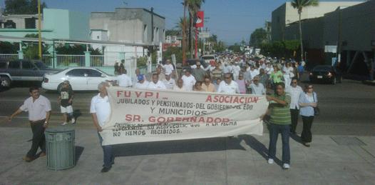 Marcos Covarrubias, indolente ante la situación jubilados y pensionados