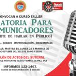 curso-taller Oratoria para Comunicadores