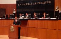 Ricardo Barroso en tribuna