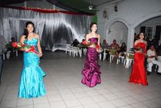Alexia Espinoza, Reina de las Fiestas de Fundación