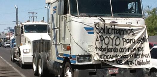 Transportistas contra el monopolio de Baja Ferries