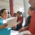 Familias de la colonia Ampliación Navarro Rubio