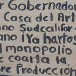 Artesanos de La Paz reclamaron al gobernador