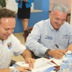 Marcos Covarrubias y José Jaime Pérez González