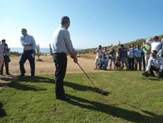 Arranca construcción de campo de golf