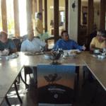 Roberto Flores, durante su participación en el desayuno del Grupo Madrugadores