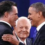 Obama y Mitt Romney.