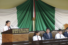 Se instaló el Quinto Parlamento de la Juventud Sudcaliforniana