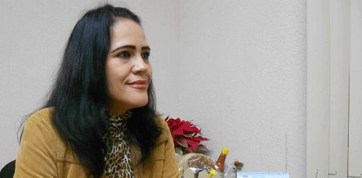María Isabel de la Peña Angulo, secretaria general del SNTSA en Baja California Sur