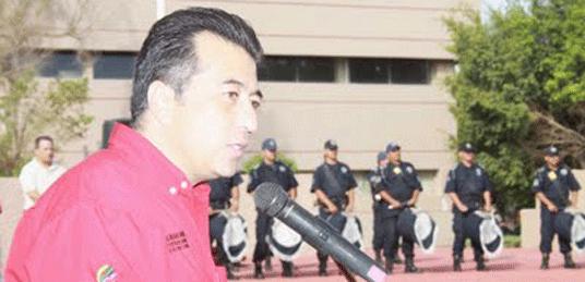 Alejandro Davis Monzón, director del Registro Público de la Propiedad y del Comercio del Ayuntamiento de La Paz.