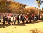 colas en escuelas