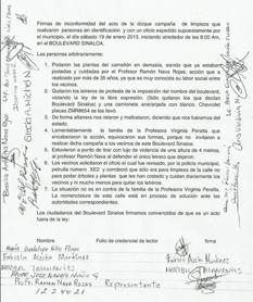 Que no agredió Servicios Públicos a vecinos de la Ruiz Cortines
