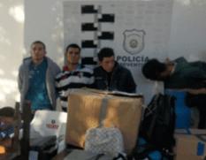 Alejandro González Rubio Ojeda, Raymundo Alberto Aguilar Cota, Pedro Gabriel Castro Segovia y Guillermo Alcántar Espinoza.