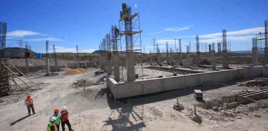 Presenta 25% de avance el Centro de Convenciones de La Paz