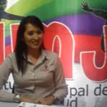 La directora del IMJ, Rocío Araujo.