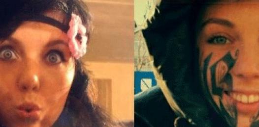 Se tatuó la cara por el novio
