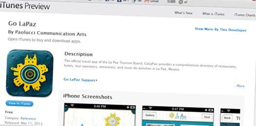 La Paz ya tiene APP para tabletas y celulares