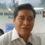 El jefe de los Servicios Regionales de la SEP, René Hernández Jiménez