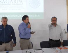 Ya hay nuevo delegado en Sagarpa