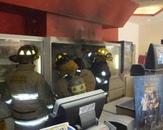 Incendio en Cinemex en plena función