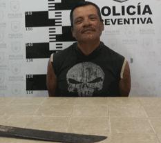 A machetazos hirió Eleazar a José Luis, su pareja