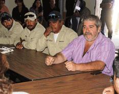 Dialoga alcaldesa EPB con ejidatarios de San Antonio