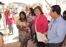 Entrega Alcaldesa cartas de posesión en Lagunitas