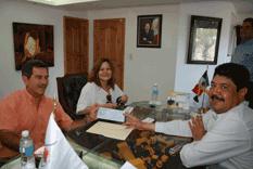 Recibe Cruz Roja aportaciones vía OOMSAPASLC