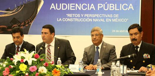 Pide Barroso impulsar la construcción naval