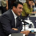 El Senador por Baja California Sur, Ricardo Barroso