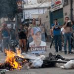 enfrentamientos entre oficialistas y opositores