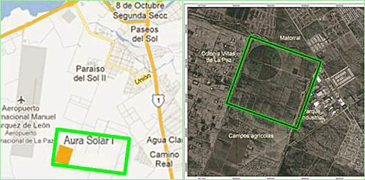Planta solar en La Paz