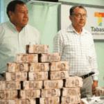 88.5 millones de pesos en efectivo