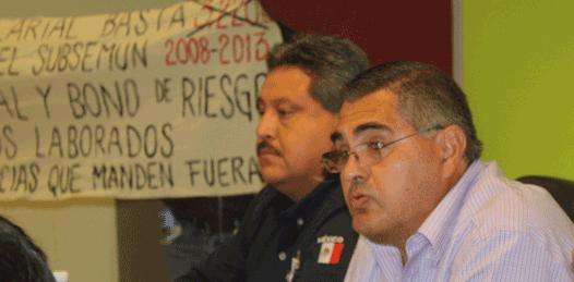 Con marcha, exigen polimunicipales 100 %  de incremento salarial