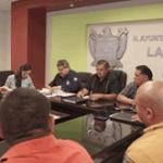 Beltran Rochin con policias
