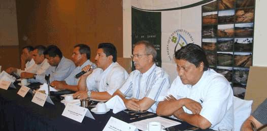 Anuncian acciones contra la desertificación