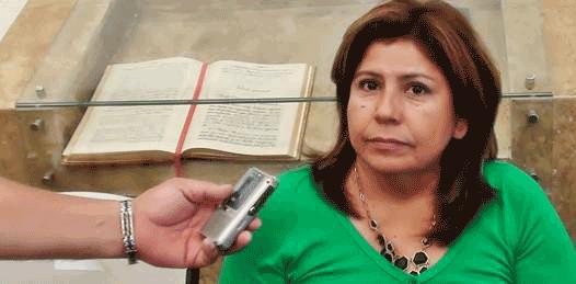 La encargada de despacho de la Procuraduría General de Justicia del Estado (PGJE), Martha Cecilia Garzón López.